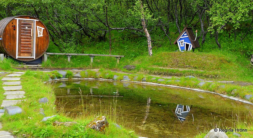 The camping area in Húsadalur Þórsmörk South-Iceland