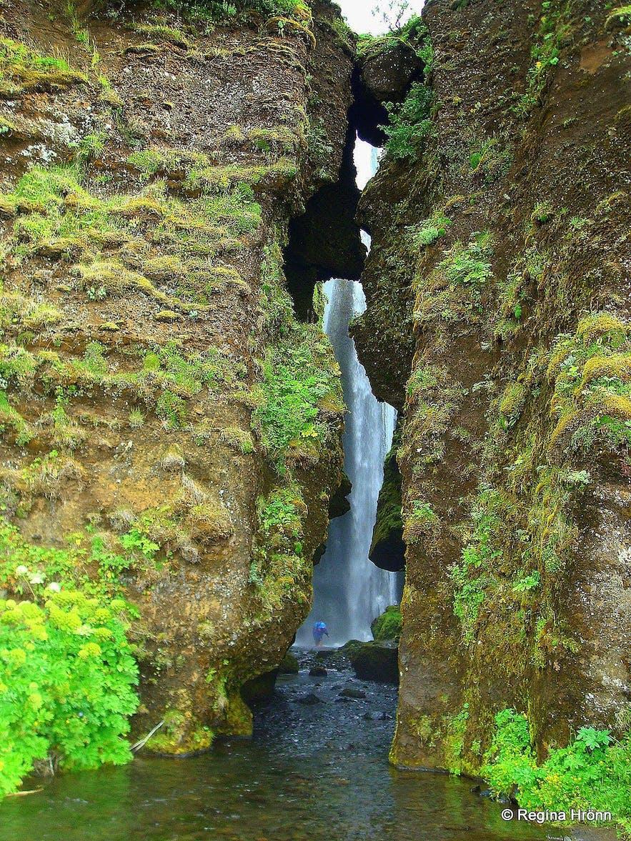 'Canyon Dweller', Iceland's hidden waterfall.