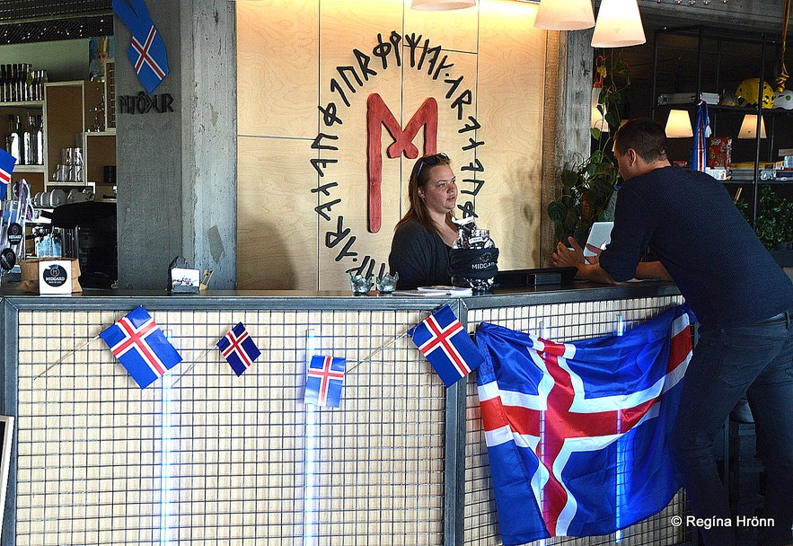 Midgard Adventure offices at Hvolsvöllur