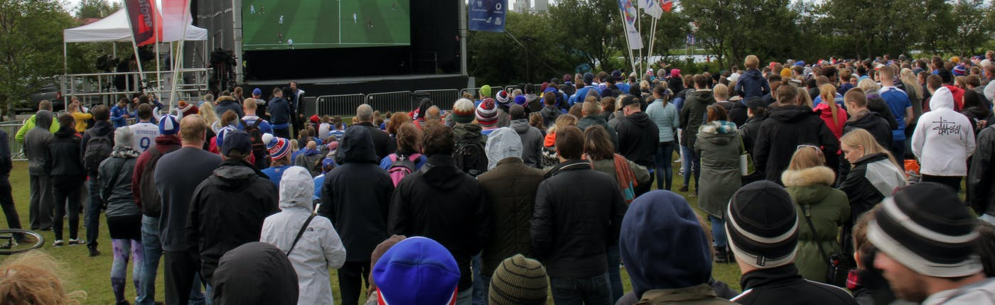 Iceland's Word Cup history has been made