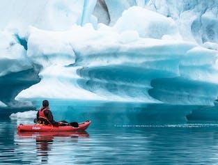 Skaftafell Glacier Hike & Jokulsarlon Kayaking