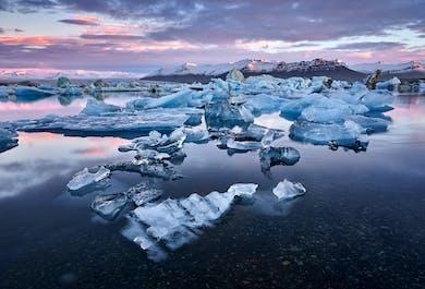 Trésors du sud de l'Islande en minibus | Jusqu'à Jokulsarlon