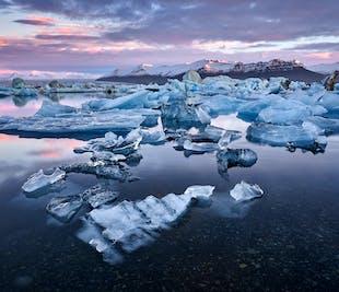 Trésors du sud de l'Islande en minibus   Jusqu'à Jokulsarlon