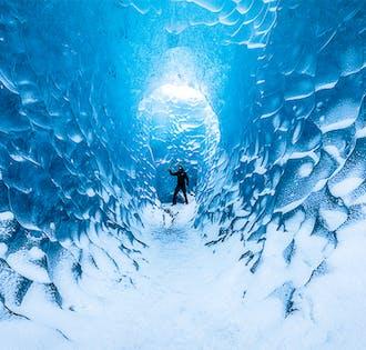 2-tägige Eishöhlen-Tour für kleines Budget   Südküste mit Jökulsarlon