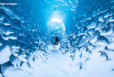 Tour invernale di 2 giorni a basso costo   Costa Meridionale, Jokulsarlon e Grotta di Ghiaccio Blu