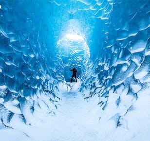 Tour invernale di 2 giorni a basso costo | Costa Meridionale, Jokulsarlon e Grotta di Ghiaccio Blu