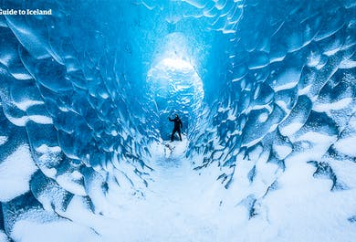 Tour económico de 2 días en invierno | Costa Sur, Jokulsarlon y Cueva de Hielo Azul