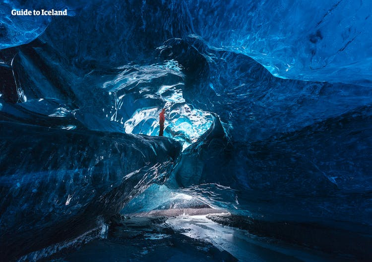 Entering a natural ice cave is surely an experience you will never forget.