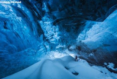 Tour económico de 3 días en invierno   Círculo Dorado y Costa Sur con caminata por un glaciar y cueva de hielo