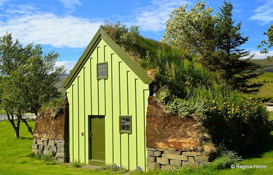 Reynistaður turf house in Skagafjörður in North-Iceland