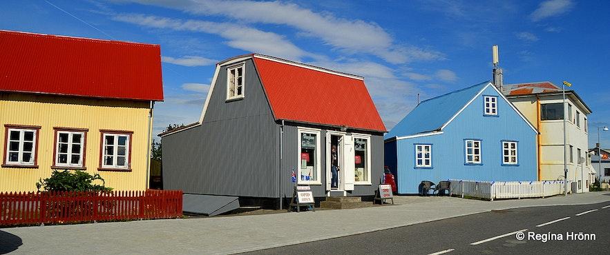 Eyrarbakki village South-Iceland