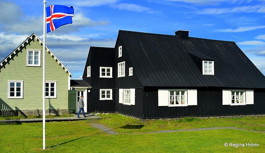 The House in Eyrarbakki village