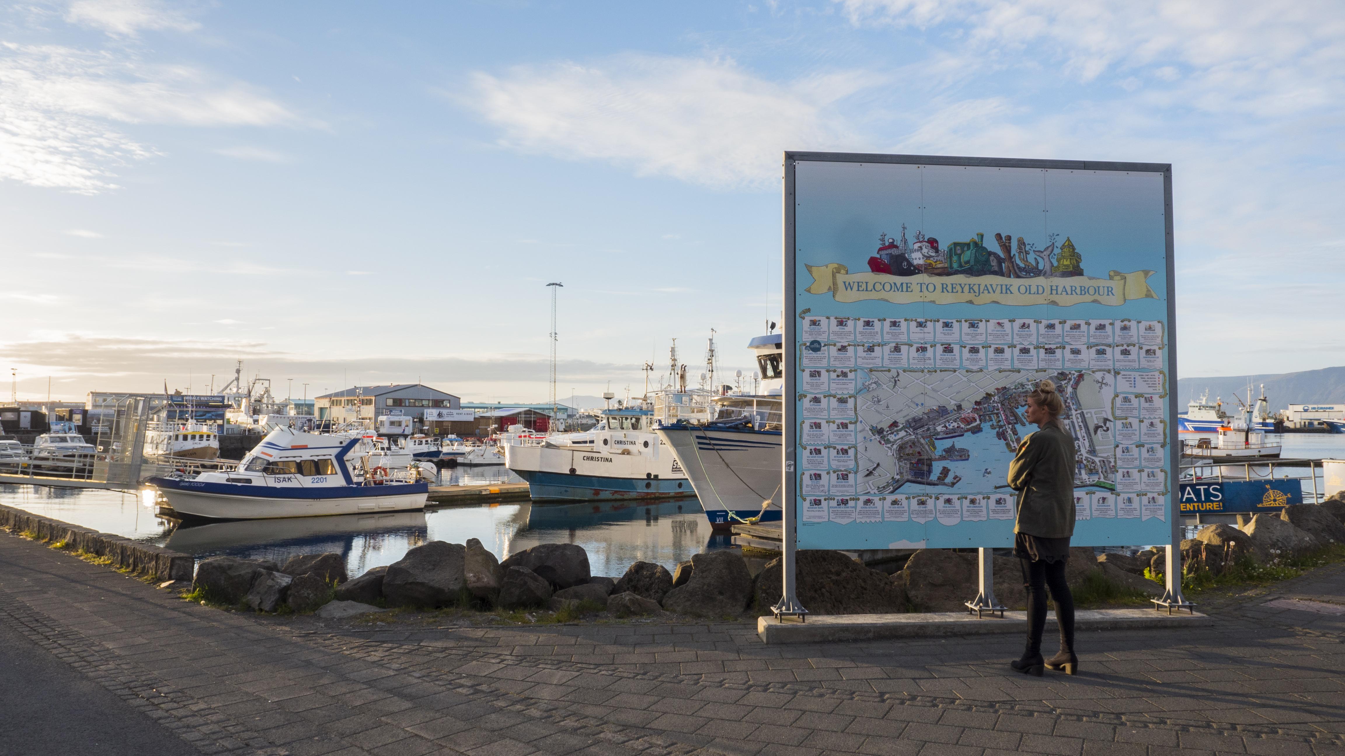Grandi is a harbour district in the heart of Reykjavík.