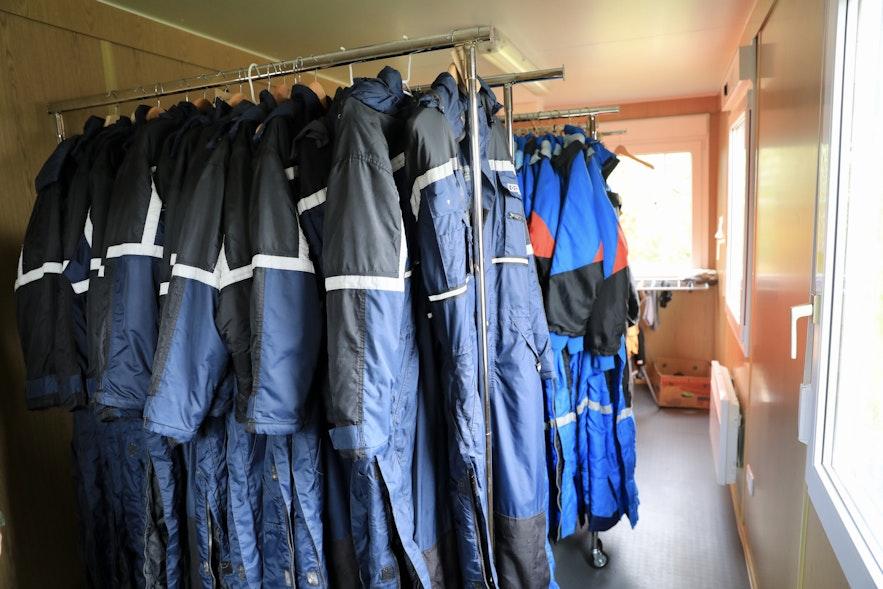 冰島雪橇犬農場提供的防寒服裝
