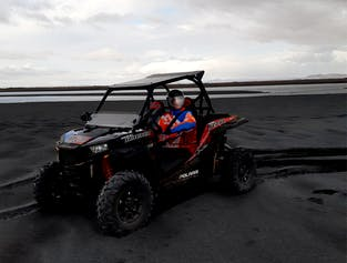 1-Hour Buggy Tour on Black Sand Beach | Departure from Hella