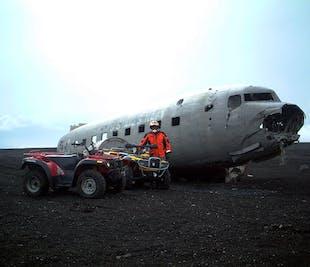 Südküste & Quad-Tour zum DC-3 Flugzeugwrack