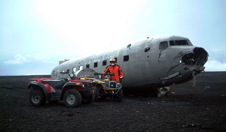 Ride a powerful ATV to the DC3 plane wreck.