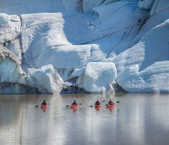 South Coast Kayaking Tour   Waterfalls & Solheimajokull Glacier Lagoon