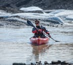 The sit-on-top kayaks are easy to handle.