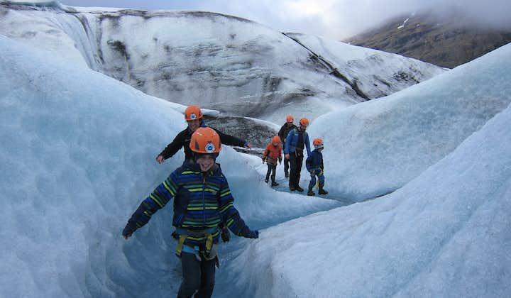 3-godzinna wędrówka po lodowcu Vatnajokull z transferem z laguny Jokulsarlon