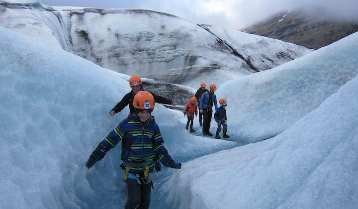 Rando sur glacier au Vatnajokull   Départ de Jokulsarlon