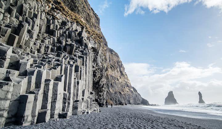 冰岛南岸观光+冰川徒步探险|雷克雅未克出发小巴一日游