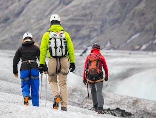 Caminata glaciar en Sólheimajökull