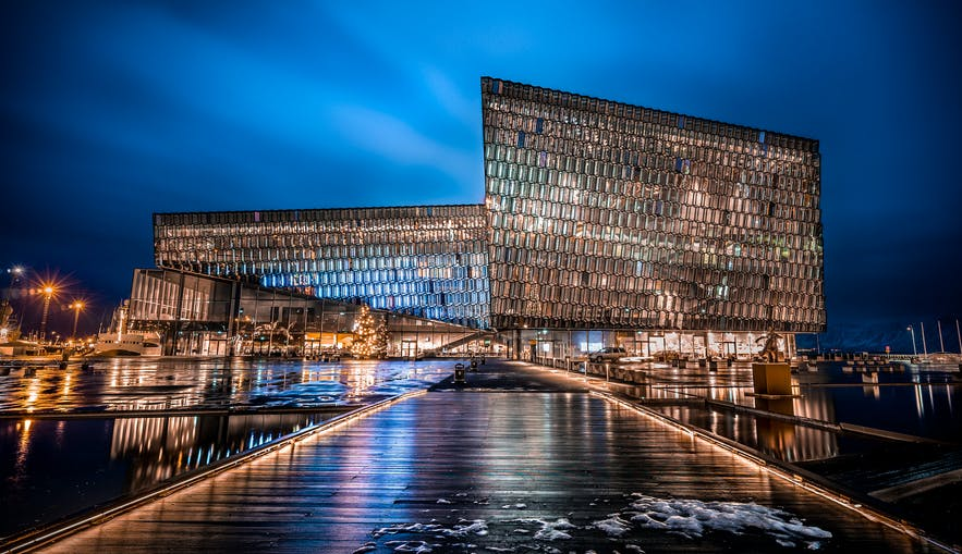The first concert held at Harpa Concert Hall took place in 2011. Construction began to 2007.