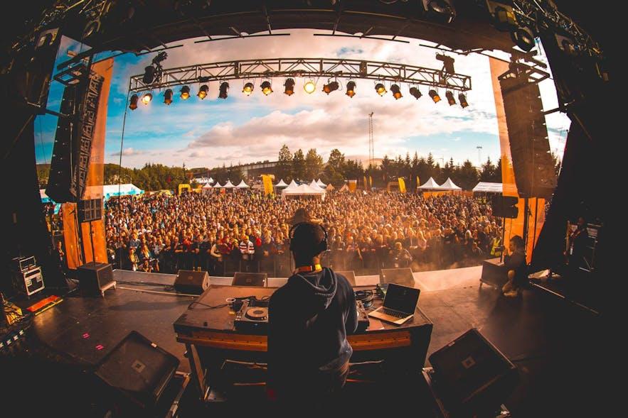 Impreza Secret Solstice organizowana w czerwcu w Reykjaviku.