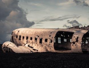 2 Day South Coast, Jokulsarlon Glacier Lagoon, Glacier Hike & DC-3 Plane Wreck Tour