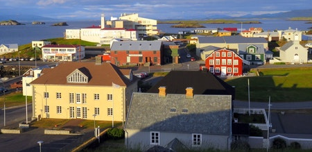 Stykkisholmur is a colourful and charming town.