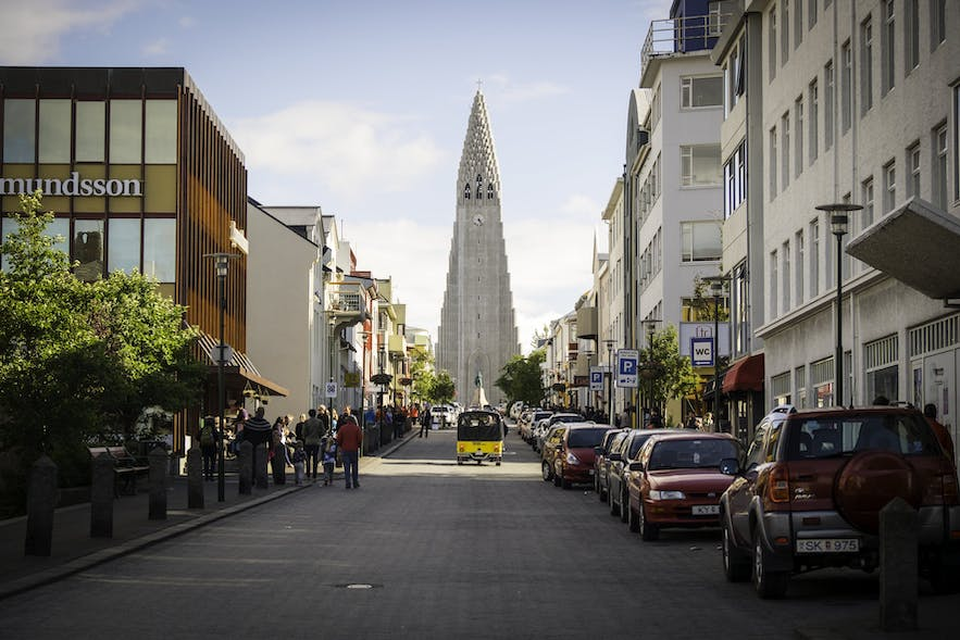 Hallgrímskirkja church is one of the country's most recognisable landmarks.