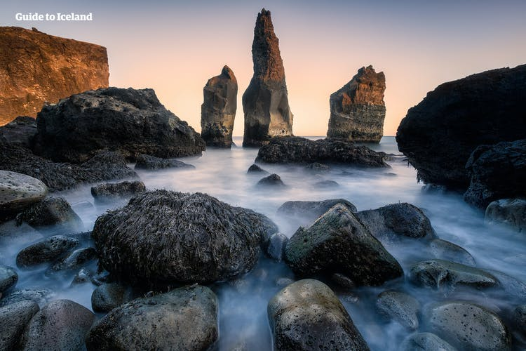 Reykjanes is known for its scenic coastlines and strange rock formations.