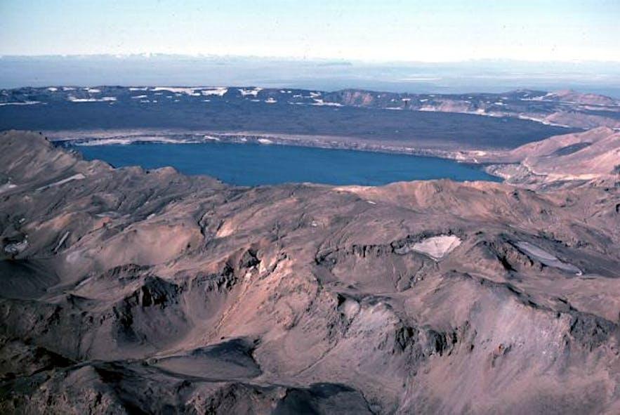 A beautiful view of Askja