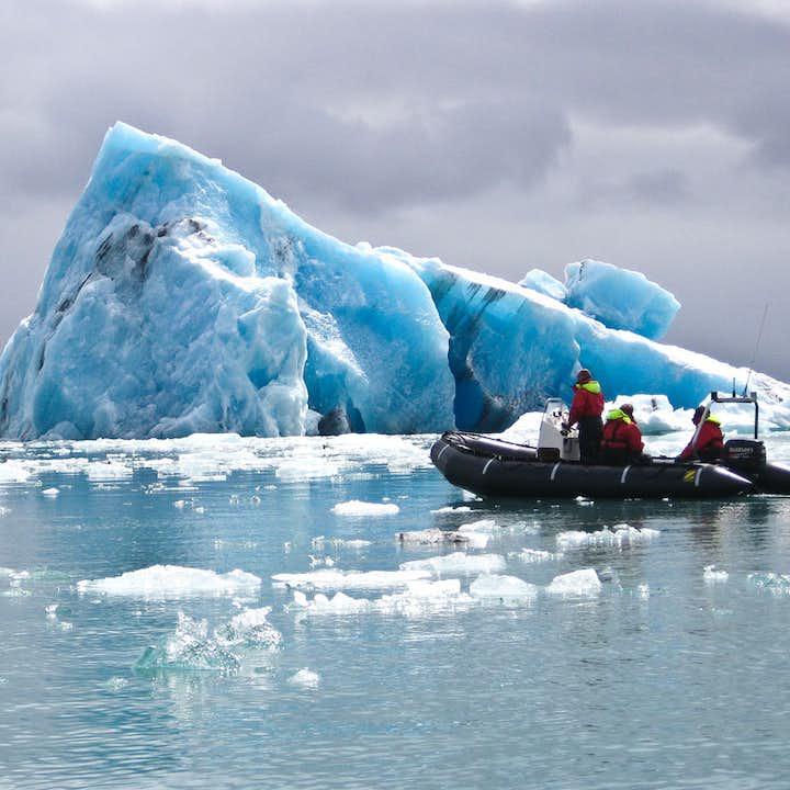 杰古沙龙冰河湖快艇船游|自驾集合