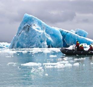 Tour in Zodiac della Laguna Glaciale di Jokulsarlon | Incontro sul posto