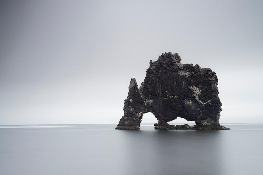冰島北部犀牛石