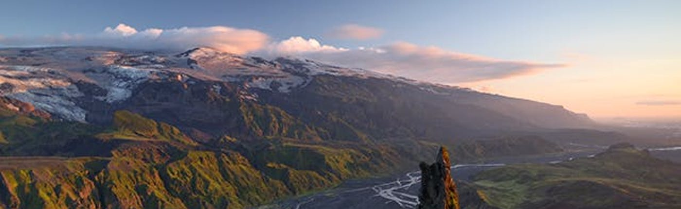 Summer views of Þórsmörk