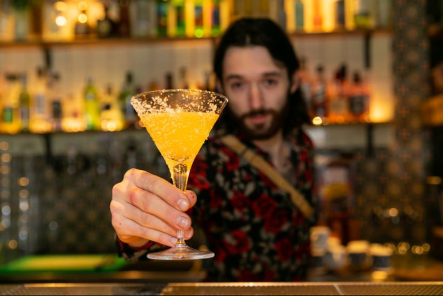 Delicious and summery cocktail at Pablo Discobar