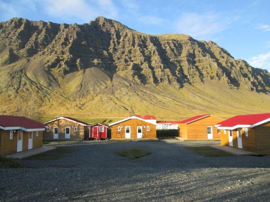 杰古沙龙冰河湖附近的民宿住宿