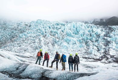 В голубых объятиях Скафтафетль | Восхождение на ледник