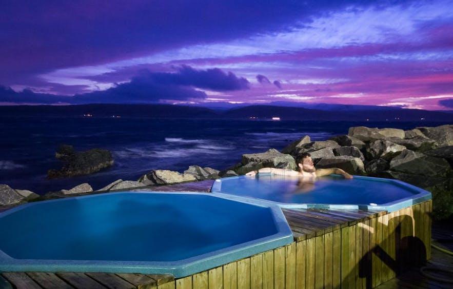西峡湾可以泡温泉浴的民宿
