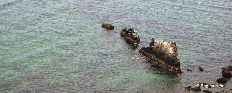 Coastlines in the Westjords.