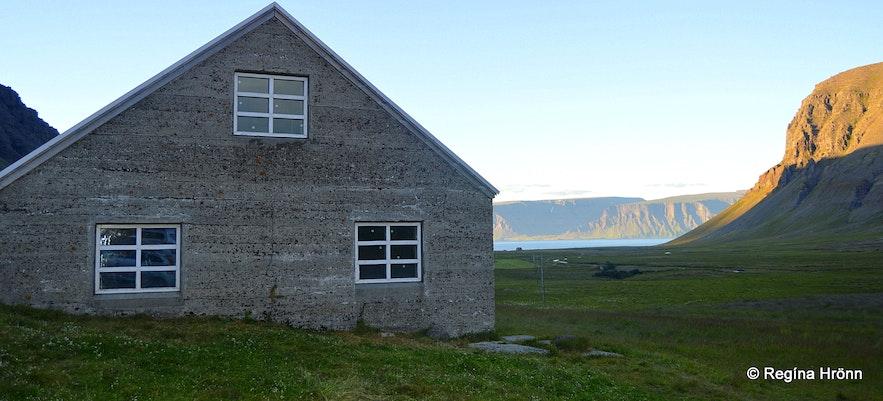 The Uppsalir farm, former home of the reclusive hermit, Gisli