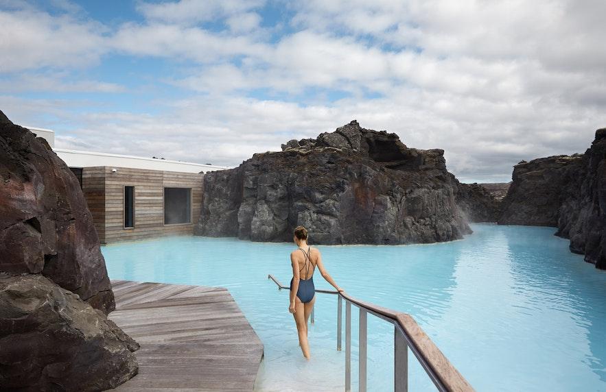 På The Retreat har du obegränsad tillgång till Blå lagunen och spaanläggningen.