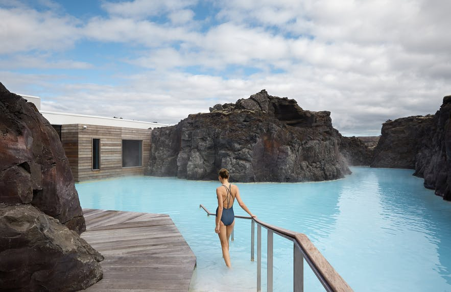 At the Retreat you have unlimited access to the Blue Lagoon and spa.
