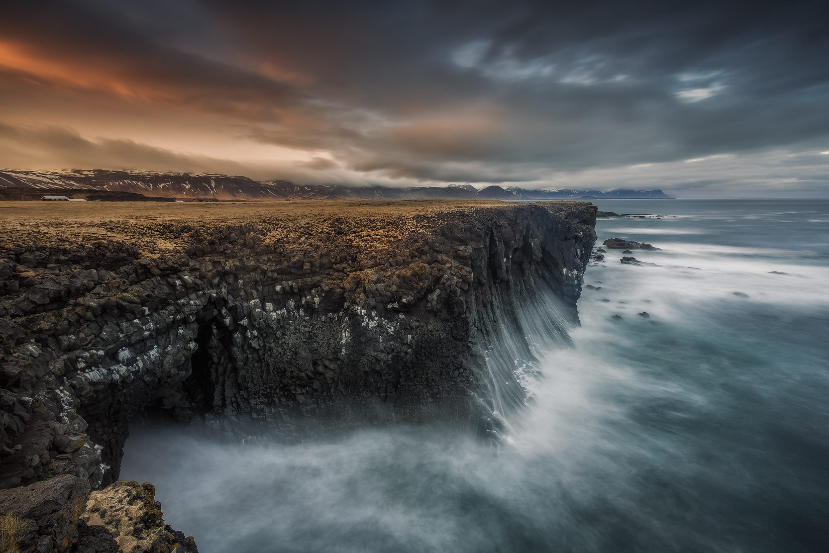 The dramatic coastlines of the Snæfellsnes Peninsula will surely leave you speechless.