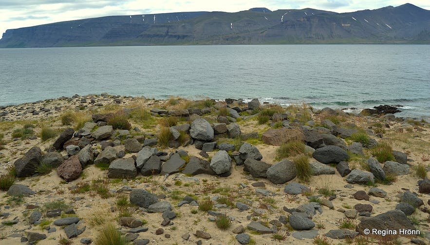The Westfjords is truly steeped in history - Hringsdalskumlið pagan graves