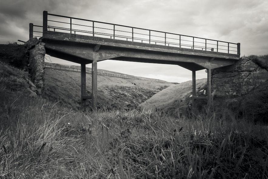 Verfallene Brücke, Route 60