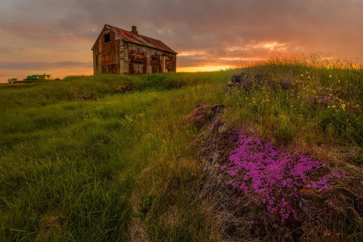 The Westfjords have countless abandoned buildings which make for excellent photo fodder.